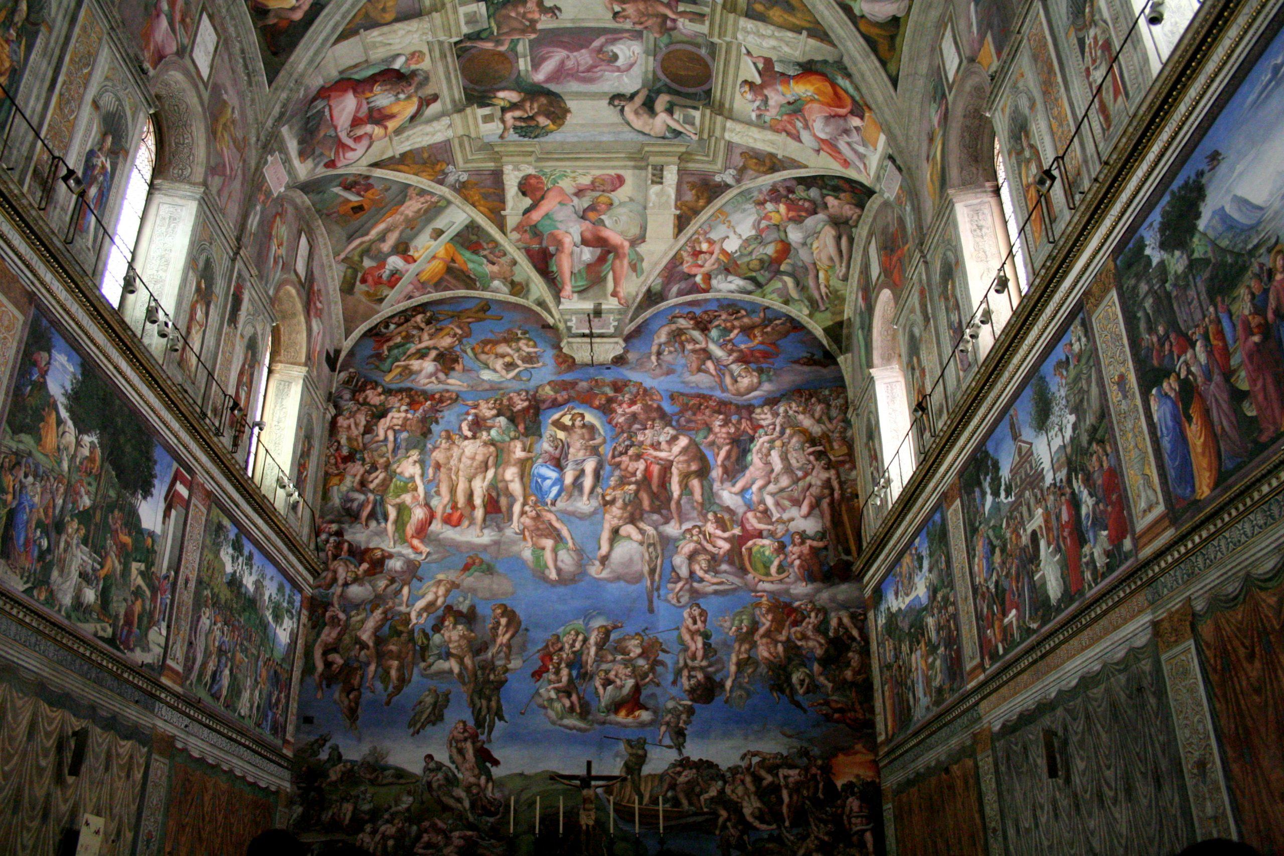 2007, Sistine Chapel, Vatican City, Italy