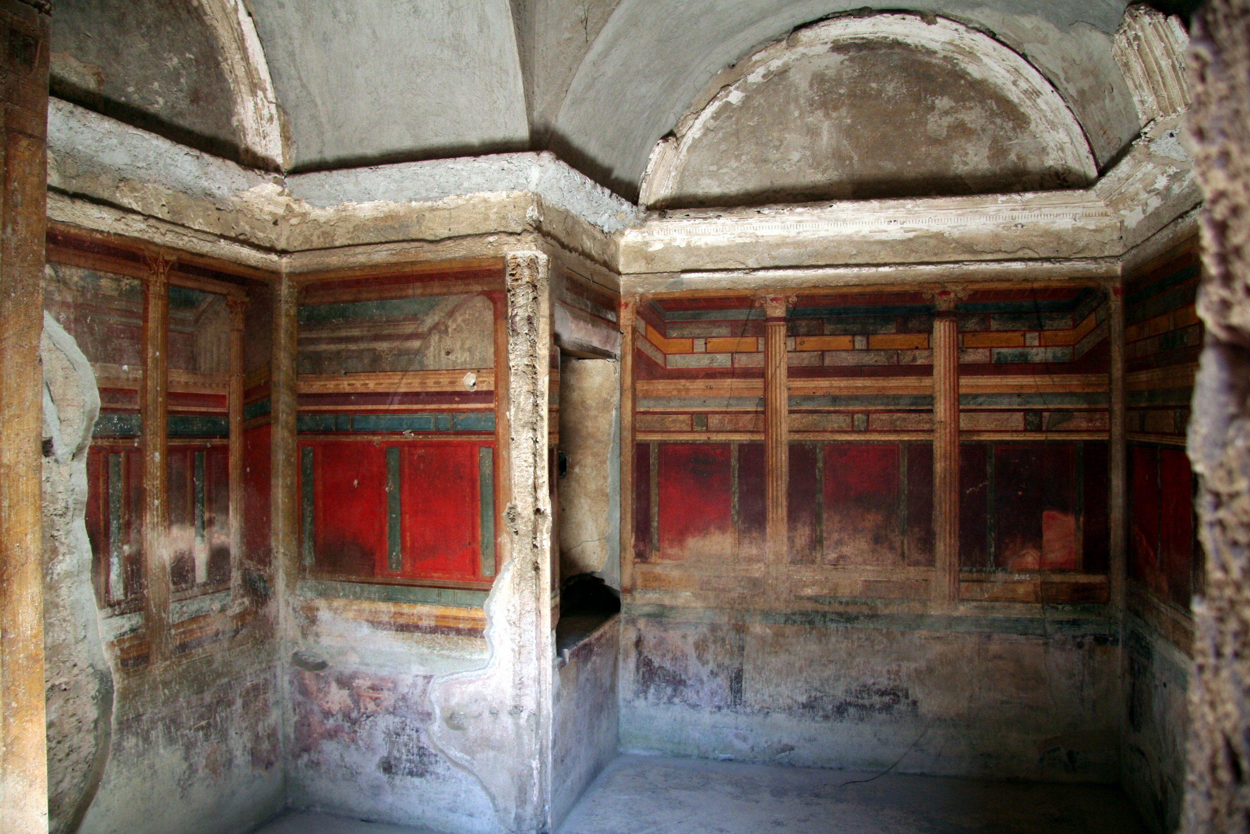 2009, Villa dei Misteri, Pompeii, Italy