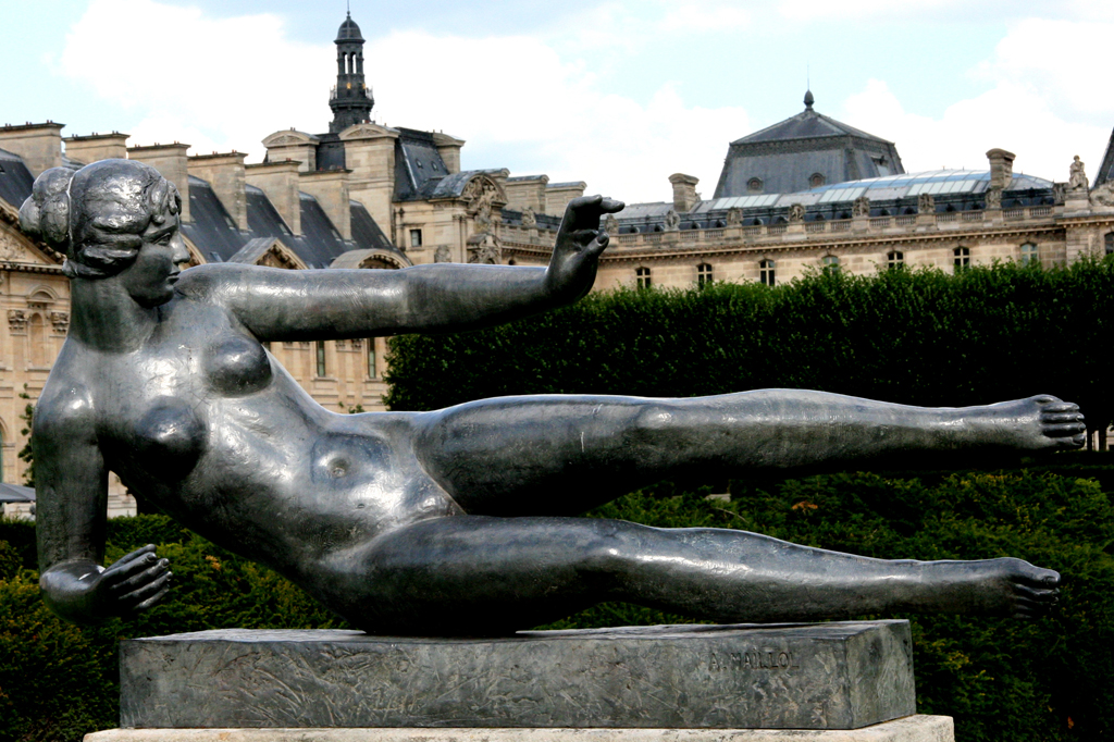 Aristide Maillol, Air, 1932, lead