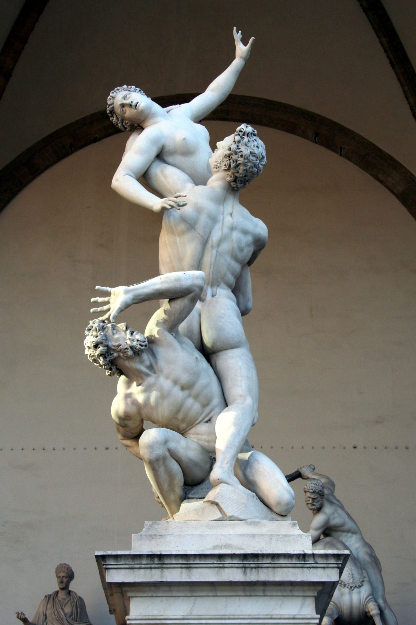 2008, Giambologna, The Rape of the Sabine Women, Loggia die Lanzi, Florence, Italy