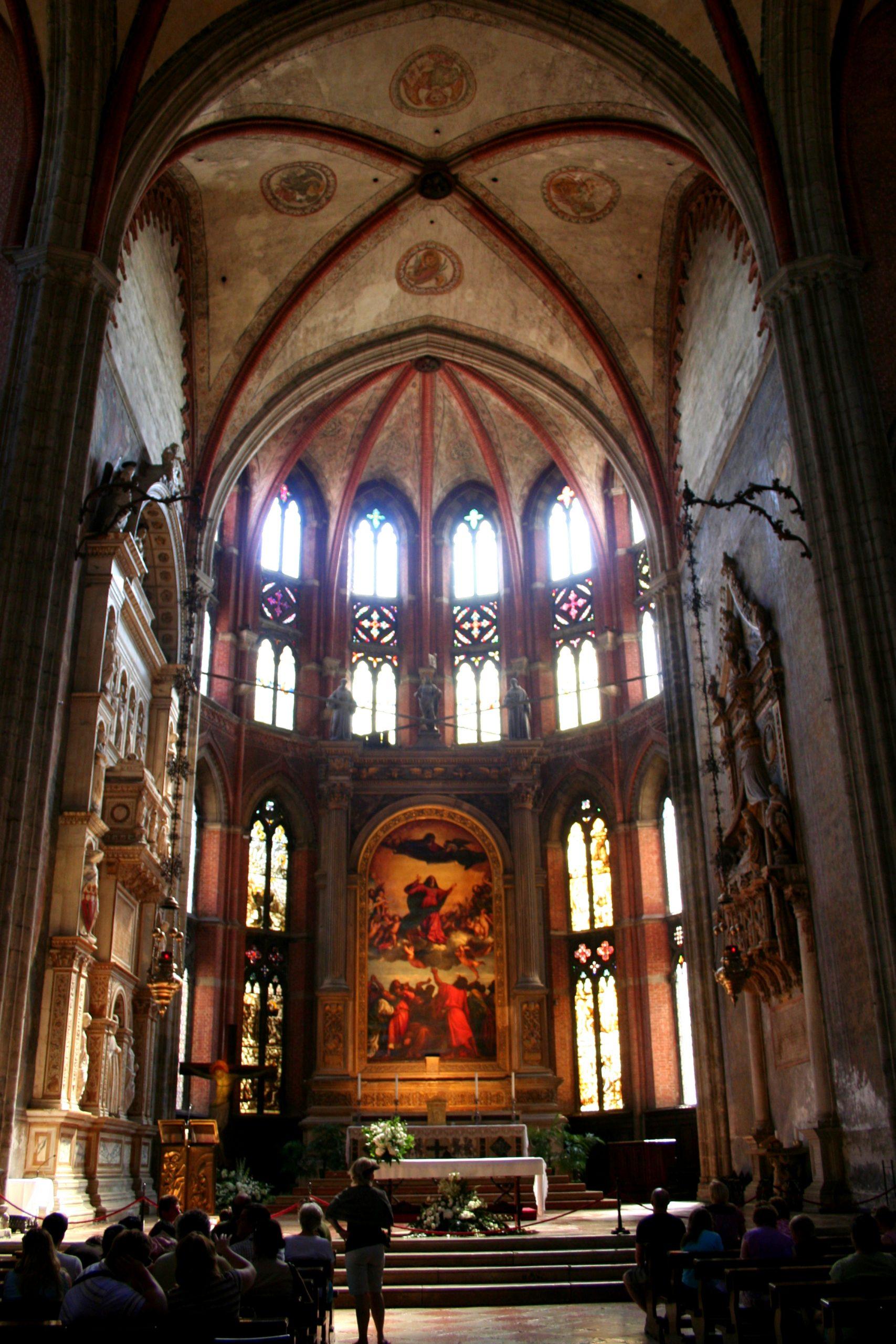 2007, Basilica di Santa Maria Gloriosa dei Frari, Venice, Italy
