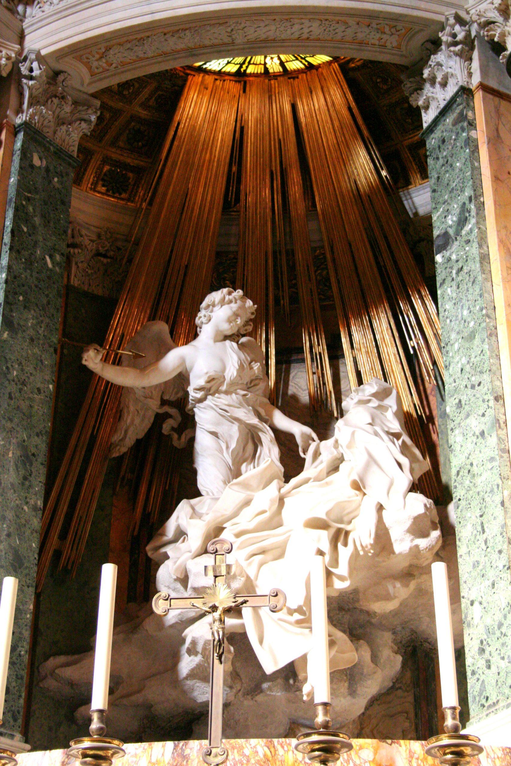 2007, Gian Lorenzo Bernini, <i>The Ecstasy of Saint Teresa</i>, Chiesa di Santa Maria della Vittoria, Rome, Italy