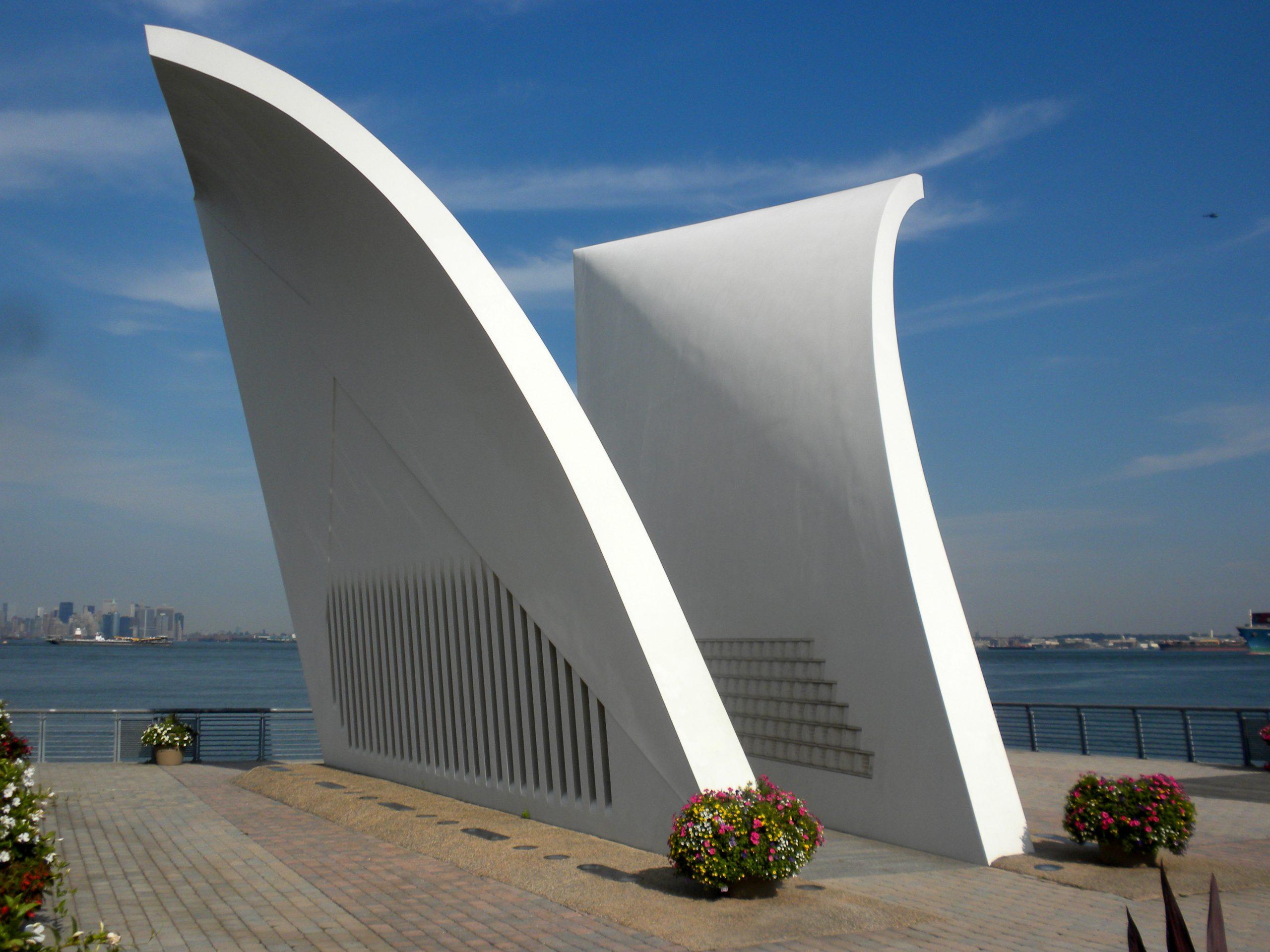 2010, Postcards, 9/11 memorial, St. George, Staten Island, New York