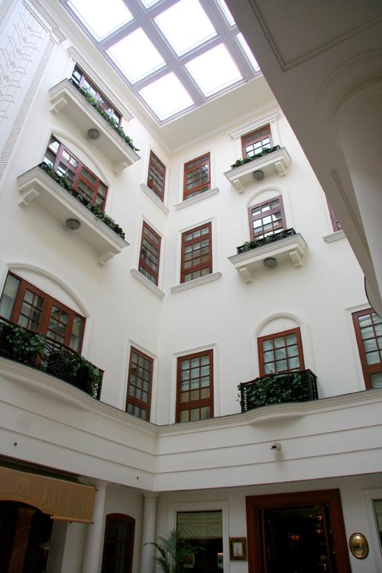 Atrium of the Imperial Hotel, Delhi